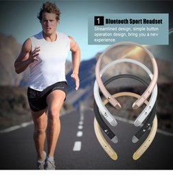 Tone Infinim HBS913 Wireless Sports Bluetooth Headphone HBS-913 Neckband Stereo Earphone with Microphone Hands Free Headset Earbuds for LG