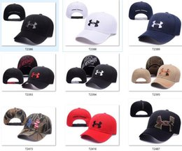 Wholesale Snapbacks Under Ball Hats Fashion Street Headwear adjustable size Armour custom football baseball caps drop shipping top quality