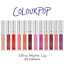 Wholesale Brand New COLOURPOP Ultra Matte Liquid Lipsticks with Retail Package Box Colors Nutritious Matte Lipsticks Drop Shipping DHL