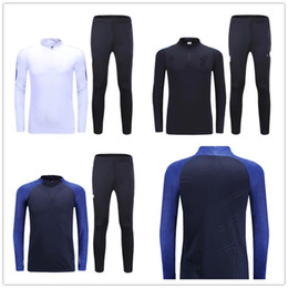 Wholesale _ soccer tracksuit FRANCE top AAA quality long sleeve Training suit pants football training clothes sports wear mens Sweater