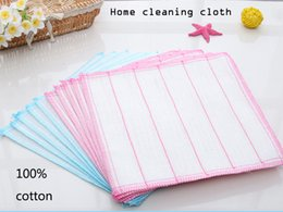 Bamboo microfiber washing clothing for kitchen cleaning colorful household cleaning washing clothes