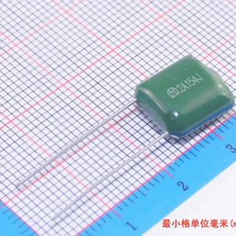Wholesale F264 A154J Polyester film capacitor nF uF V A154J