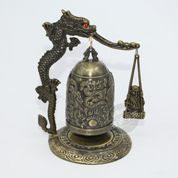 home decoration desktop ornaments antique bronze musical instruments bell bell monk hit bell
