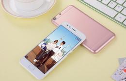 Acheter en ligne Logos sim-Gophone s7 edge s7 5 pouces téléphone android téléphone déverrouillé avec logo smartphones Elephone double carte SIM téléphones étanches mini téléphones intelligents