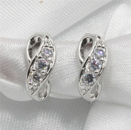 Wholesale Earrings luxury AAA CZ DDE03 marquise cut Austria crystal earrings girl gifts