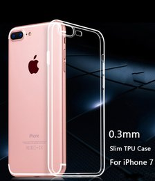Wholesale For Iphone Case Iphone Plus Case TPU Case Ultra Thin mm Clear Iphone s Case Soft Transparent Gel Case Back Case OPP Bag MOQ