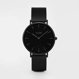 Wholesale The new contracted fashion brand watch CLUSE leisure men s and women s watches students expression couple table Watch of wristwatch