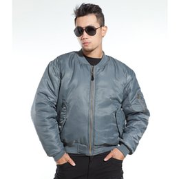 Wholesale FASHION Winter Jacket GENUINE ALPHA INDUSTRIES MA1 MA FLYING JACKET MA USAF FLIGHT JACKET S XXL
