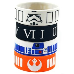 Wholesale Shipping New Arrival 50PCS Lot Mix Design Star Wars Silicone Wristband Perfect To Use In Any Benefits Gift For Gamer