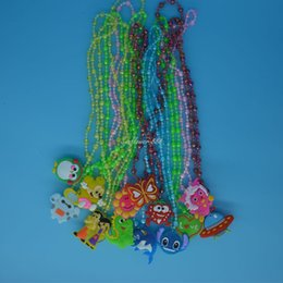 LED LIGHT UP FLASHING NECKLACES FOR CHILD KIDS