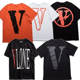 Asian Size 2017 VLONE T Shirt Top Quality VIRGIL ABLOH Friend Harajuku Male Fitness V VLONE OFFWHITE Tee Camouflage Men Women HipHop Tshirt