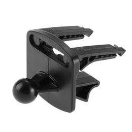 Promotion vent mount gps Vente en gros-Nouvelles Promotions Black Plactics voiture GPS GPS Air Mount Support Support Base Set pour Garmin Nuvi Livraison gratuite