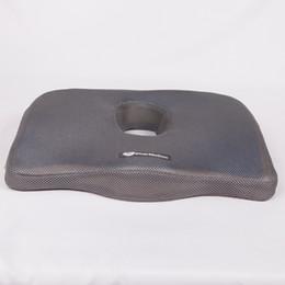 Mousse de mémoire confortable forme ronde siège Tabouret de bureau de bureau Coussin avec couverture en velours à partir de mousse de voiture pour la forme fabricateur