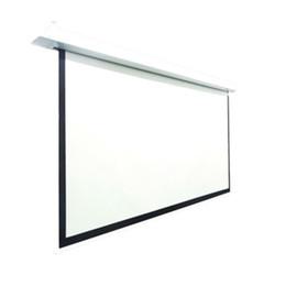 4K 3D 16:9 HDTV Format 100'' Electc Ceiling Recessed Screenri 125*221cm - Standard with RF, fiberglass