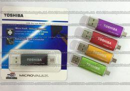 Acheter en ligne Disque flash haute vitesse-16 Go / 32 Go / 64 Go / 128 Go / 256 Go Toshiba OTG usb flash drive / pendrive USB2.0 / OTG memory stick / High speed Disque de stockage externe