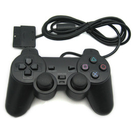 Joystick usb ps2 online-PlayStation 2 / USB controlador de juegos con cable Gamepad Joystick controlador para PS2 Para Windows PC de calidad superior al por mayor