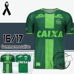 Wholesale 2016 Chapecoense AF SC camisa de futebol brasil club CAMISETAS FUTBOL thai quality soccer jersey Maillot Home Away Third Green shirts