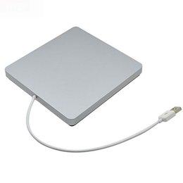 Wholesale Super Slim External USB Superdrive Case Enclosure for Macbook Pro Air iMAC Slot in mm mm SATA Optical Drive Optibay