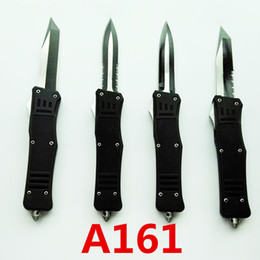 MICROTECH Troodon A161 A 161 double action Hunting Folding Pocket Knife Survival Knife Xmas gift for men 1pcs