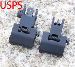 Flip Up Rapid Transition Front and Rear Iron Sights Black Free Shipping