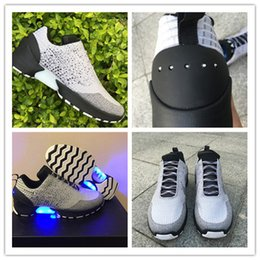 Wholesale 2017 New Running Shoes HyperAdapt Hyper Adapt I Men Sneakers Led Light Glow In Dark Size