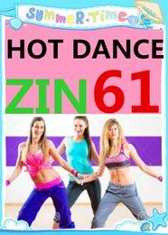Free Shipping 2016.3 Q2 march New South America HOT DANCE ZIN 61 Comprehensive dances ZIN61 Video DVD + Music CD