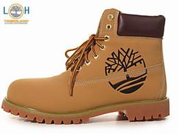 2017Authentic Brand New Men Premium Boots Timber Waterproof outdoor Grey Nubuck brown boots size 40-45
