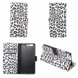 Lg sachets en plastique en Ligne-Leopard Portefeuille en cuir pour Galaxy S8 / Plus / LG G6 / Huawei P10 /