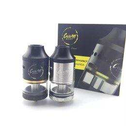 Wholesale Newest CoilArt Mage Combo Coil Art Mage RDTA RDA mm Diameter with k Gold Plated Building Posts VS Ijoy Limitless XL High quality DHL