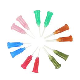 Wholesale 100pcs Bag PP Flexible Needle Syringe Blunt Needles Glue Dispensing Soft Needle Tips G G G G G G Size