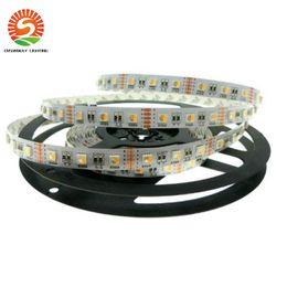 Wholesale Best effect v V RGBW LED Strip SMD5050 Flexible LED strips color in LED Chip LEDs m m per