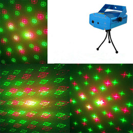 6 in 1 Laser LED Stage Lighting Over 20 Styles Mini Stage Light Mini Laser Lighting Party Light 110V-240V Laser Christmas Light