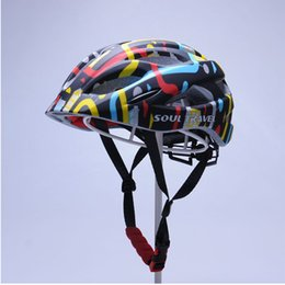 Wholesale Soul Travel Eps Armet Kids Bike Cycling Helmet Skating Helmets Safety Cap Integrally molded Child Casco Ciclismo