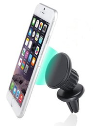 Wholesale Universal Air Vent Magnetic Car Mount Holder with Fast Swift Snap Technology for Smartphones Degree Rotation Black