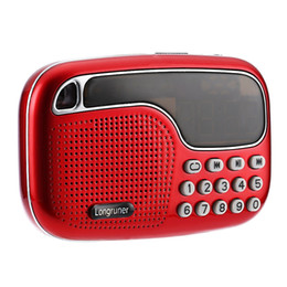 Wholesale Hot sale Portable Mini Multifunctional FM Radio Versatile Wireless Speaker TF Card USB Disk Audio Files Playing