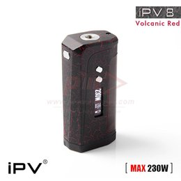 Wholesale Authentic Pioneer4you IPV W TC Box Mod a Cattle Leather Grip and the Latest Yihi Chip for IPV8 Mod Original DHL Free