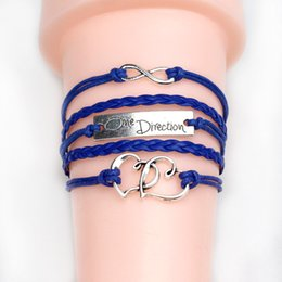 Our company provide Retro jewelry Leather Bracelet is studded with diamonds DIY woven Bracelet