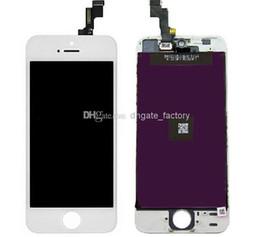 Part entière en Ligne-Écran LCD de haute qualité Écran tactile Digitizer Full Assembly pour iPhone 5 5G 5S 5C pièces de rechange de réparation DHL Free