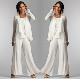 Distributeurs Gros Tailleur Ligne En Pantalon Blanches Dames SxZ1qwann