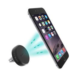 Promotion vent mount gps Aukey Car Mount, berceau magnétique renforcé sans berceau pour voiture Support pour téléphone mobile Support berceau pour iPhone 6, 6S, Samsung S6 S8