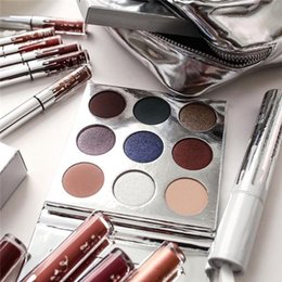 Wholesale IN Store Holiday Edition Kylie Cosmetic Limited Collection Kyshadow Palette matte lipstick makeup bag creme shadow