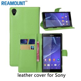 40 pcs Luxury Business Style PU Leather Case for Sony Xperia Z5 Flip Cover for Sony Xperia XZ Stand Leather cover