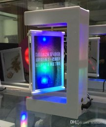 Wholesale 2 dhl led magnetic floating levitating pop up picutre frame for advertsing gift