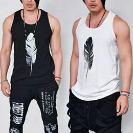 Wholesale summer gym, fitness vest, fashion men's CrossFit clothing, breathable breathable sleeveless shirts, Pure cotton vest free delivery