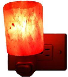 Wholesale New Natural Himalayan Salt Led Night Light Decorative Air Purifier Wall Lamps Cylinder Light Nursery Lamp Natural Crystal Lamp LLFA