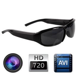 HD 720P SPY DVR Camera Camcorder Eyewear Sunglasses Hidden Camera Video Recorder Sports Camera DV Cam with Retail Box