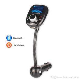 2016 Hot Selling BT002 Bluetooth Wireless Car Kit MP3 Player FM Transmitter USB Charger Handsfree Phonespeaker Free Shipping