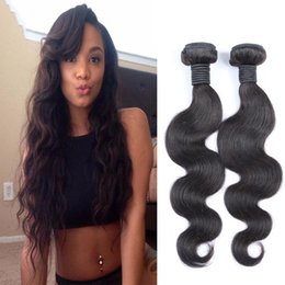 Resika 7A Brazilian Hair Bundles 8-26 Double Weft Human Hair Extensions 2 pcs 100g a lot Dyeable Hair Weaves Body Wave Free Shipping
