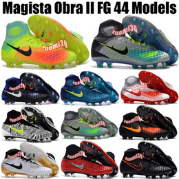 Charlin's New Mens Magista Obra Leather Soccer Cleats Superfly FG Soccer Shoes Mercurial CR7 Football Boots Magista Obra 2 Football Cleats