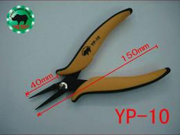 Japón RHINO Marca YP-10 Alicates de Nariz Larga 40 * 150mm Especial Sharp Dentado Para Pesca Procesamiento de Joyería Reparación Móvil Reloj desde proceso de pesca proveedores